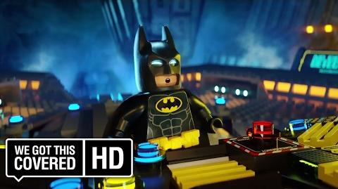 "The LEGO Batman Movie ""Bat Bored"" Promo HD Zach Galifianakis, Will Arnett"