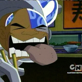 Cyborg as he appears in <i>Teen Titans: Trouble in Tokyo</i>.