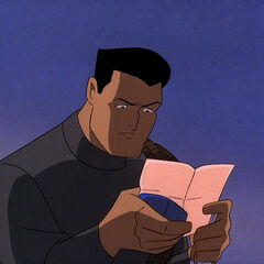 Bruce Wayne gets a Dear John letter from Andrea.