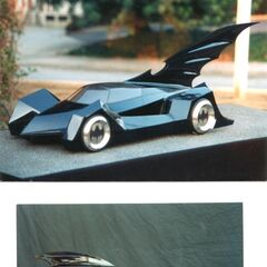 Models for <i>Batman Forever</i> Batmobile.