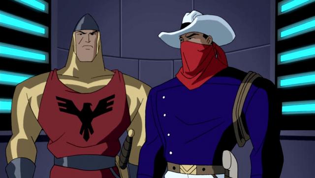 File:Shining Knight & Vigilante JLU 1.png