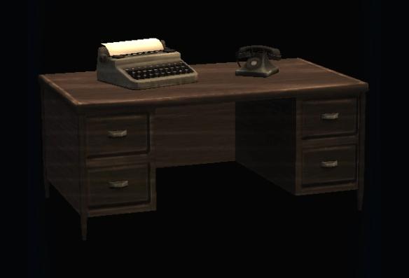 Antique Office Desk | DC Universe Online Wiki | FANDOM Powered By Wikia