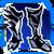Icon Feet 007 Blue