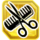 Icon Scissors and Comb (Purchased)