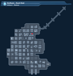 Arkham I - Batman Map