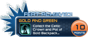Feat - Gold and Green