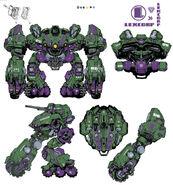 Lexcorp heavy assault walker by chuckdee