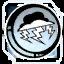 Icon Emblem 019 White