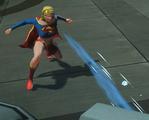 Supergirl freezing breath
