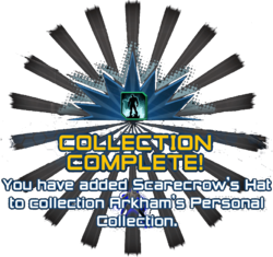 Arkham's Personal Collection complete