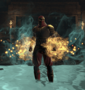 Burning Claw in Action (LOA)