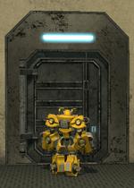 Mechanical Mech scene