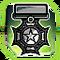 BI Medal Green