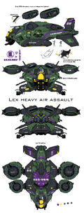 Lexcorp troopcarrier by chuckdee