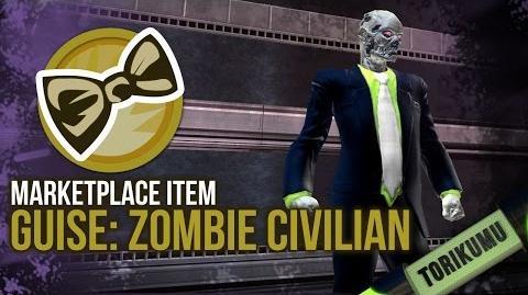 DCUO Guise Zombie Civilian Marketplace Trinket - DC Universe Online