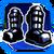 Icon Feet 005 Blue