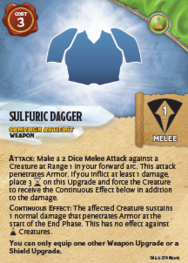 SulfuricDagger