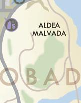 Aldea Malvada-Karte