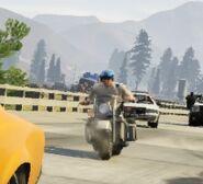 Polizeimotorrad, V t