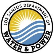 Los Santos Department of Water & Power Logo V