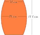 Integralrechnung: Das Volumen eines Faßes