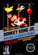 Donkey Kong Jr. NES Cover