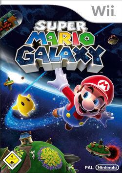 Super Mario Galaxy Cover