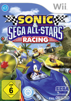 Sonic All-Stars Racing Cover