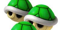 Drei Grüne Panzer