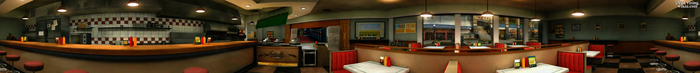 Dead rising Jill's Sandwiches PANORAMA