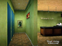 Dead rising painting womens lib dressing room