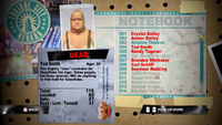 Dead Rising ted notebook