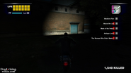 Dead rising cultist's hideout at night