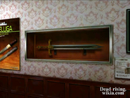 Dead rising sword on wall