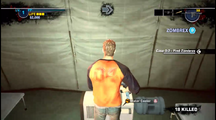 Dead rising 2 Case 0 water cooler in tent
