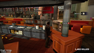 Dead rising oven thats a meatball
