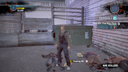Dead rising case 0 cooking oil behind the dirty drink