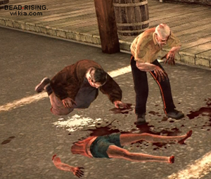 Dead rising 2 case 0 Milk zombies slipping