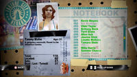 Dead Rising tammy notebook