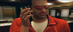 Dead rising Universe Of Optics glasses Sunglasses, Red Armless (3)