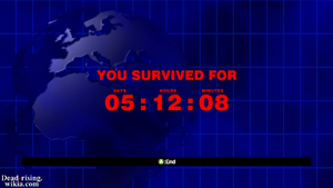 Dead rising infinity mode you survived for 05 12