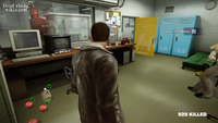 Dead rising security room food