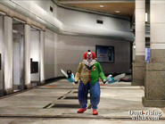 Dead rising out of control adam the clown along hallway