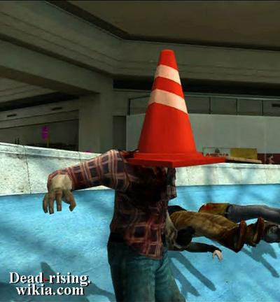 Dead rising pylon on zombies head (2)
