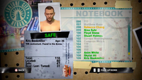 Dead Rising kris notebook