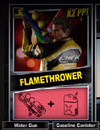 Dead rising 2 Flame thrower combo card