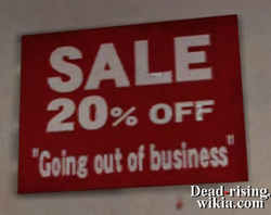 Dead rising hardware store going out of business (2)
