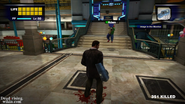 Dead rising out of control adam on stairs