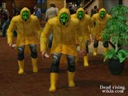Dead rising raincoat cult