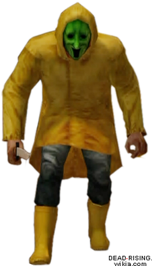 Dead rising raincoat cult member